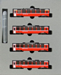 Kato 10-1319 RhB Bernina Express 4 Car Add on Set